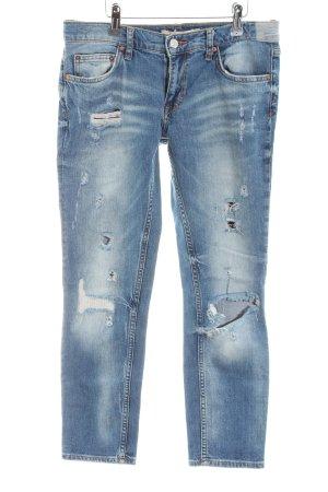 Zara Slim jeans blauw casual uitstraling
