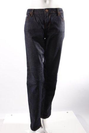Zara Slim Jeans blau