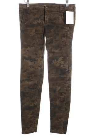 Zara Slim Jeans Camouflagemuster Military-Look