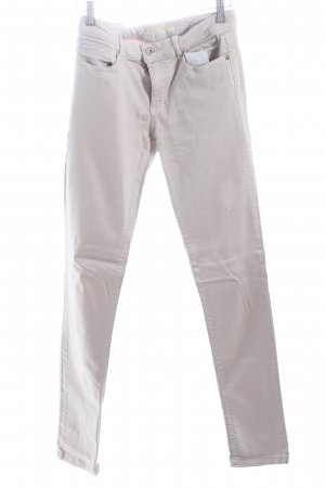 Zara Slim Jeans hellgrau klassischer Stil
