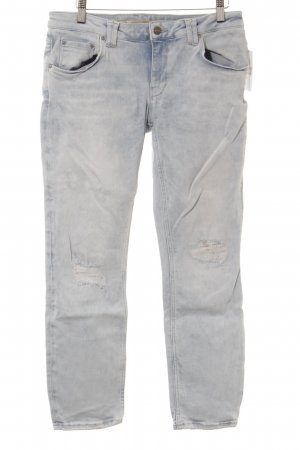Zara Slim Jeans himmelblau Casual-Look