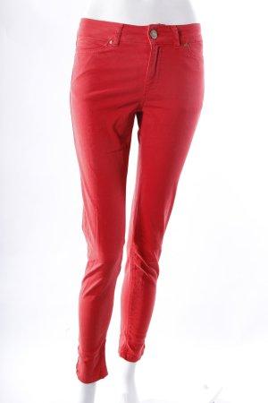 Zara Slim Jeans in rot