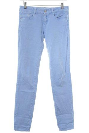 Zara Slim Jeans mehrfarbig Washed-Optik