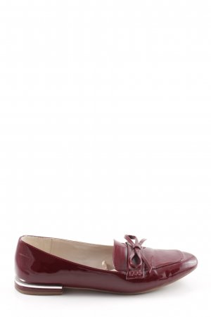 Zara Babouche rouge style d'affaires