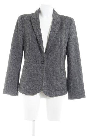 Zara Smoking-Blazer grau meliert Business-Look