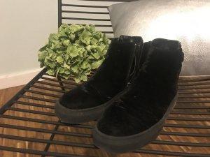 Zara Zapatillas negro