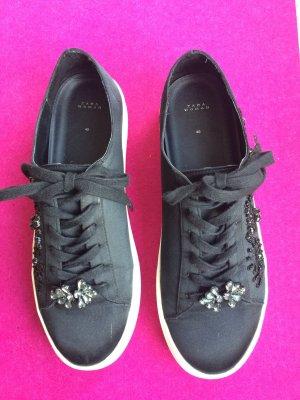Zara Basket à lacet noir fibre synthétique