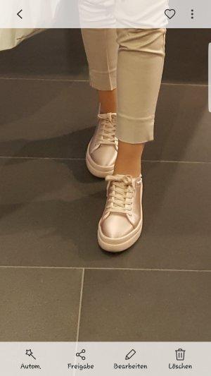 Zara sneaker aus Satin