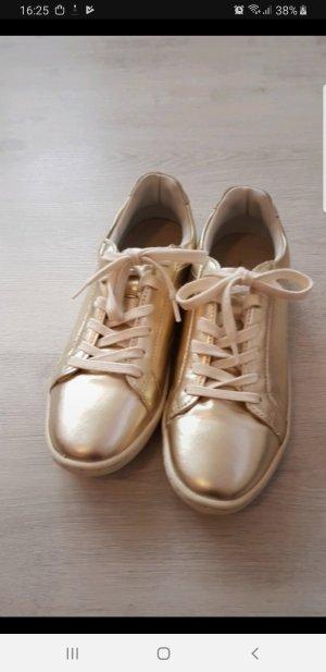 Zara Sneaker golg gr.38 (37)