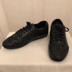 ZARA Sneaker, Leder, schwarz, Größe 38, gebraucht in gutem Zustand