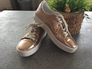 Zara Sneaker rosegold Gr. 38
