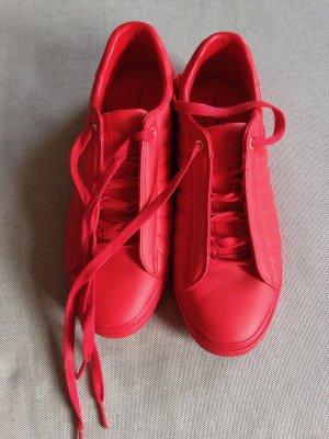 Zara Sneaker rot neu Stil Stand Smith Adidas
