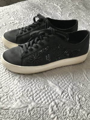 Zara Sneaker Turnschuhe schwarz mit Glitzer 40