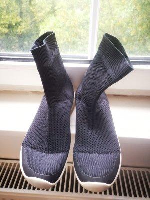 Zara sock sneaker schwarz 38