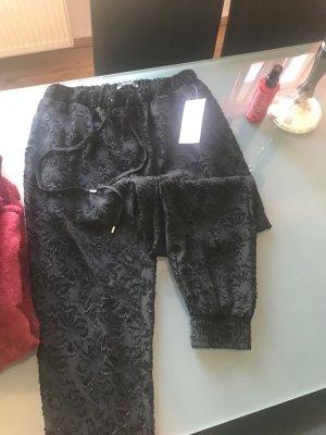 Zara Pantalon «Baggy» noir