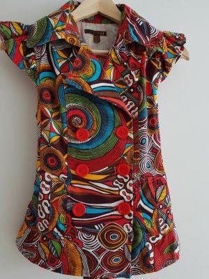 Zara Veste chemise multicolore coton