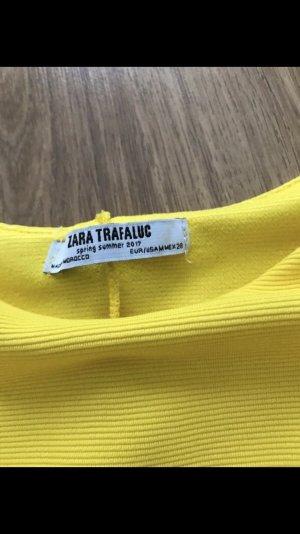 Zara Sommer Kleid M gelb