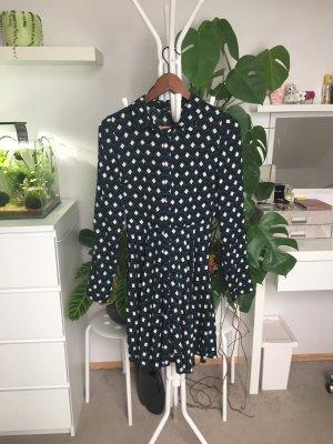 Zara Woman Abito blusa camicia multicolore