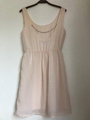 Zara Robe à manches courtes rosé-rose chair