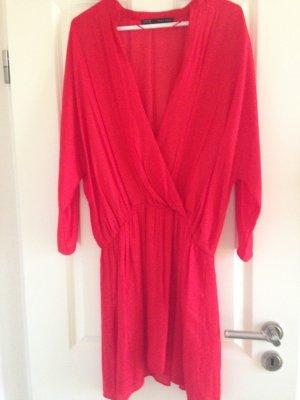 Zara Sommerkleid Rot Gr.L