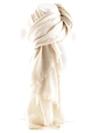 Zara Écharpe d'été beige clair style simple