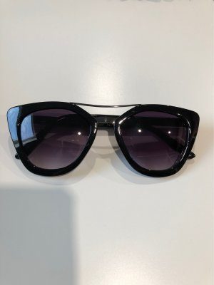 Zara Butterfly Glasses black-silver-colored