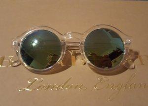 Zara Sonnenbrille mit transparentem Rahmen