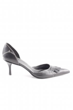 Zara Spitz-Pumps schwarz Business-Look