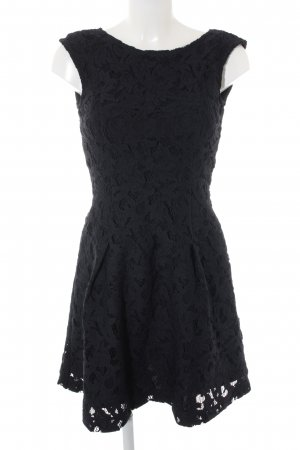 Zara Lace Dress dark blue elegant