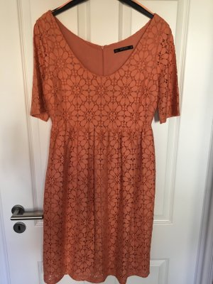 Zara Basic Empire Dress apricot