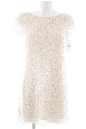 Zara Kanten jurk wolwit elegant