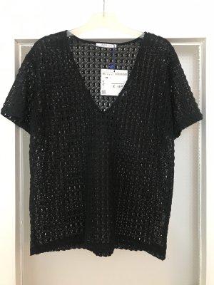 Zara Mesh Shirt black