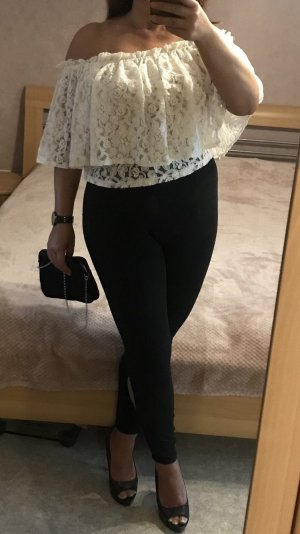 Zara Carmen shirt room-licht beige