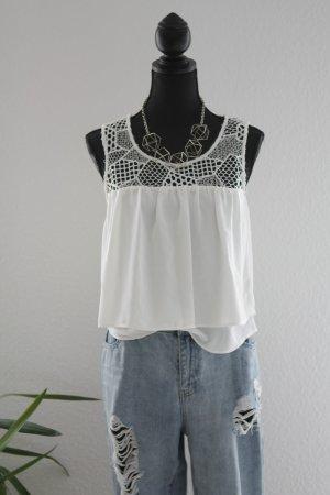 Zara Strappy Top white