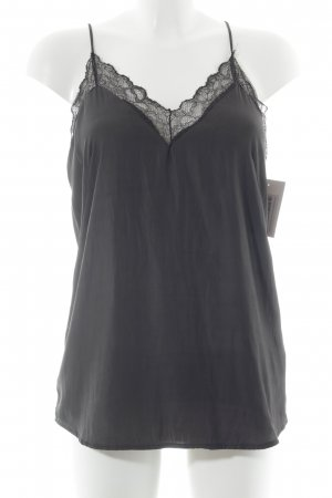 Zara Top di merletto nero stile top