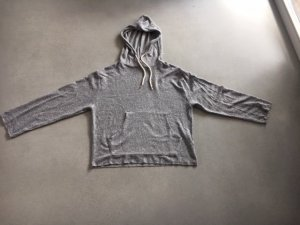 Zara Maglione con cappuccio argento