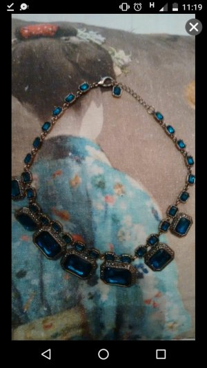 Zara Statement Kette Blau