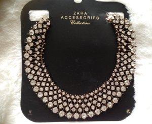 Zara Colliers ras du cou argenté