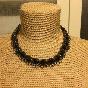 Zara Collier incrusté de pierres noir