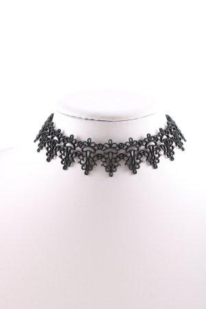 Zara Statement Necklace black business style