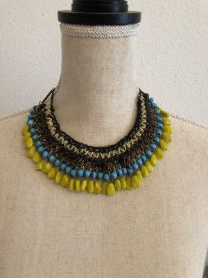 Zara Collier giallo-blu