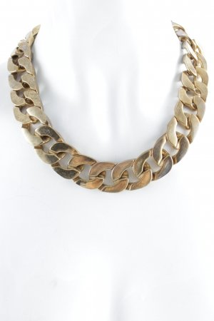 Zara Collier incrusté de pierres doré-argenté style mode des rues