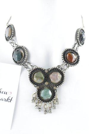 Zara Collier incrusté de pierres taupe élégant