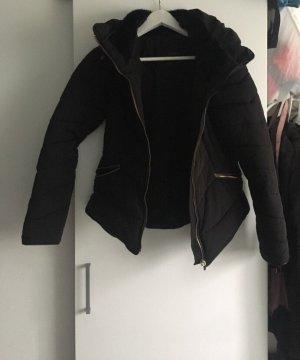 Zara Veste matelassée noir