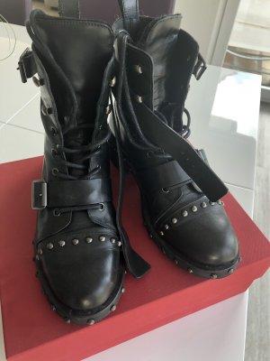 Zara Botas altas negro
