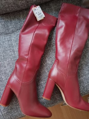 Zara Stiefel Boots Leather