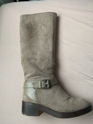 Zara Trafaluc Riding Boots multicolored