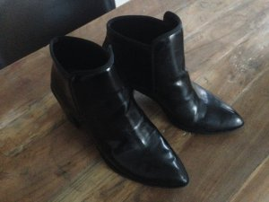 Zara stiefelette 38 lack boots ankle boots