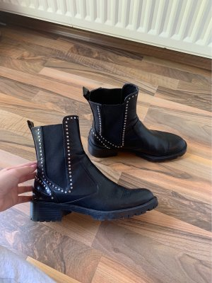 Zara Trafaluc Winter Booties black