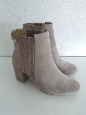 Zara Botas deslizantes color oro-gris claro